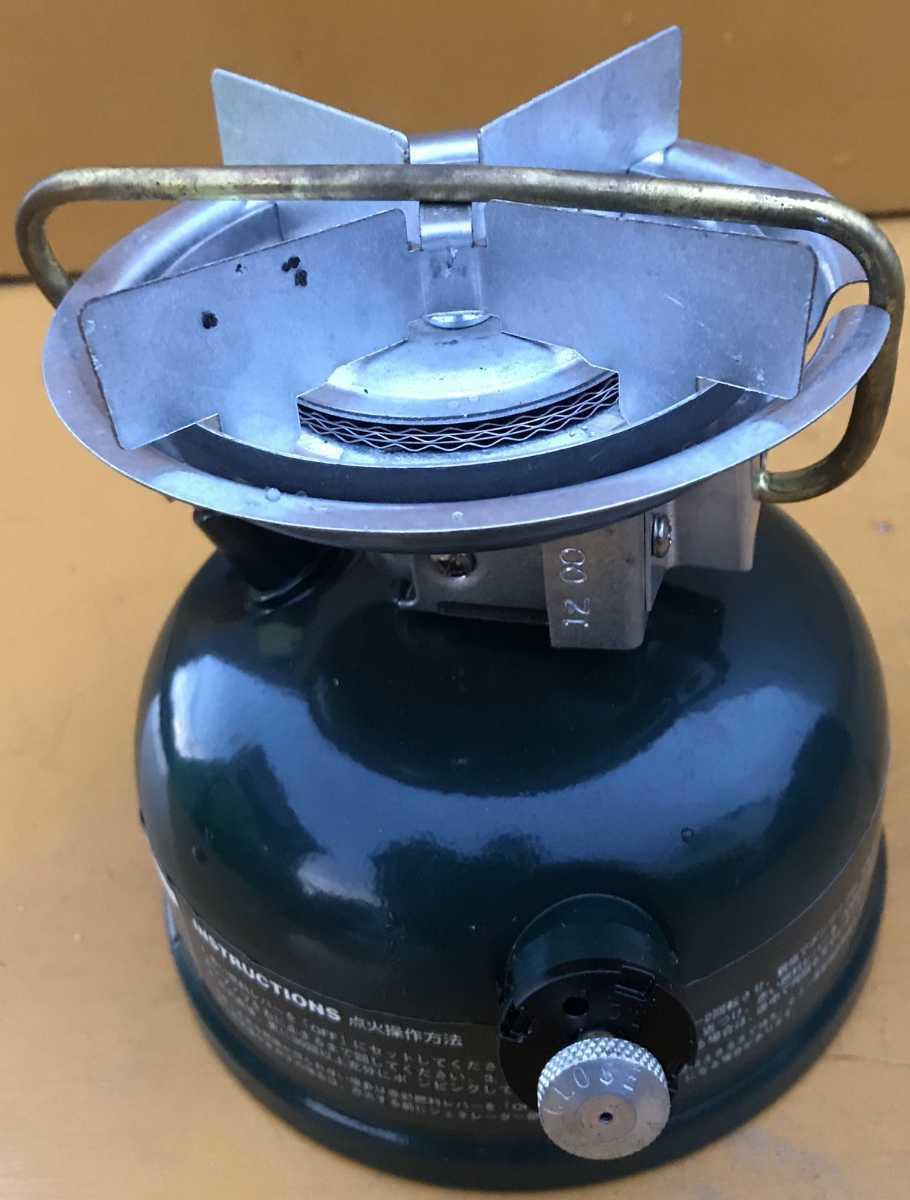新品未使用 COLEMAN 508A コールマンシングルバーナー未使用品 キャンプ用品STOVE _画像2