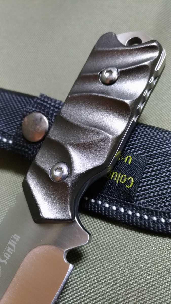 294 フルタング シースナイフ コンパクト 小型