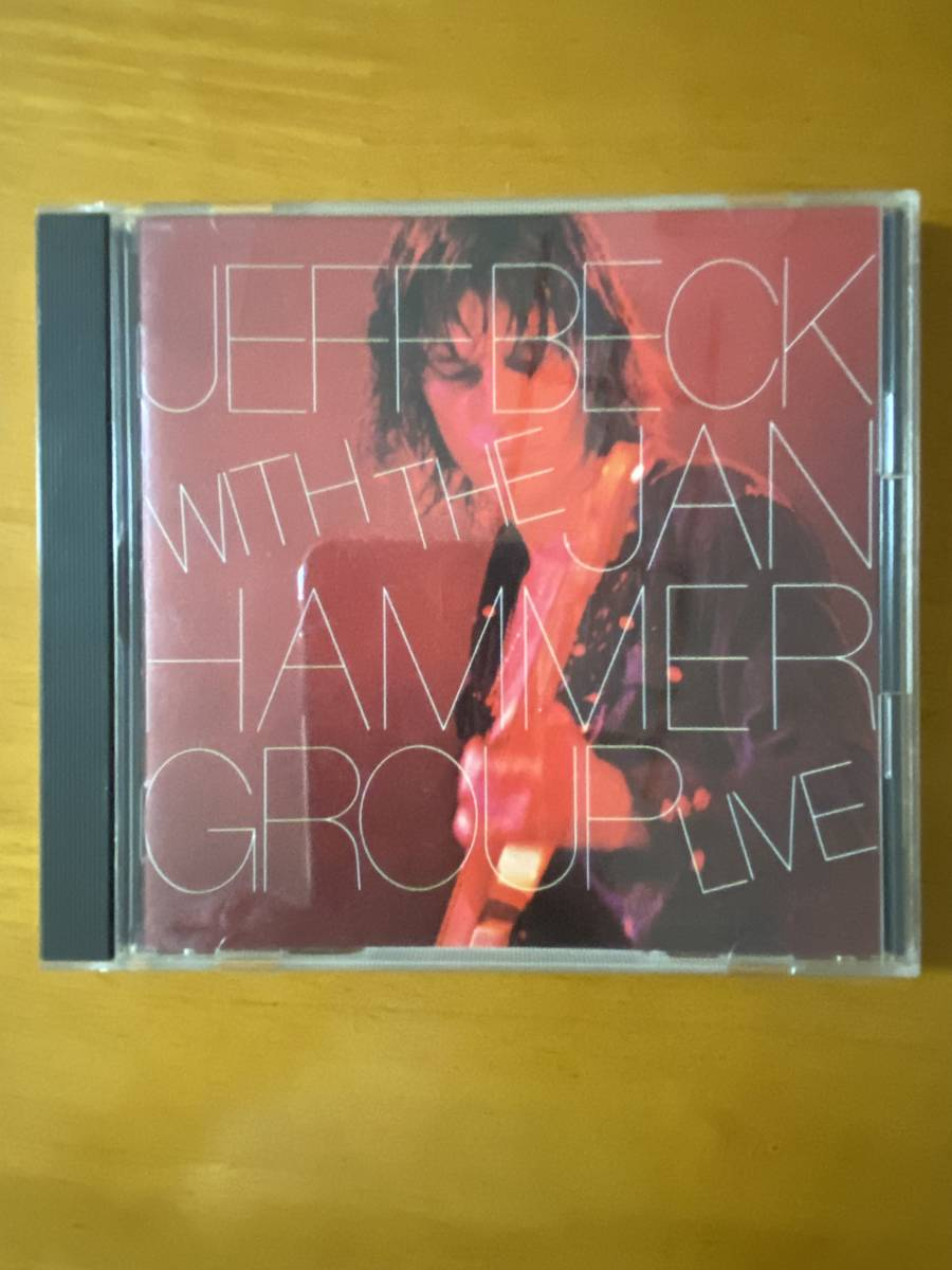 CD ジェフ・ベック Jeff Beck  ライヴ・ワイアー  Jeff Beck With the Jan Hammer Group Live
