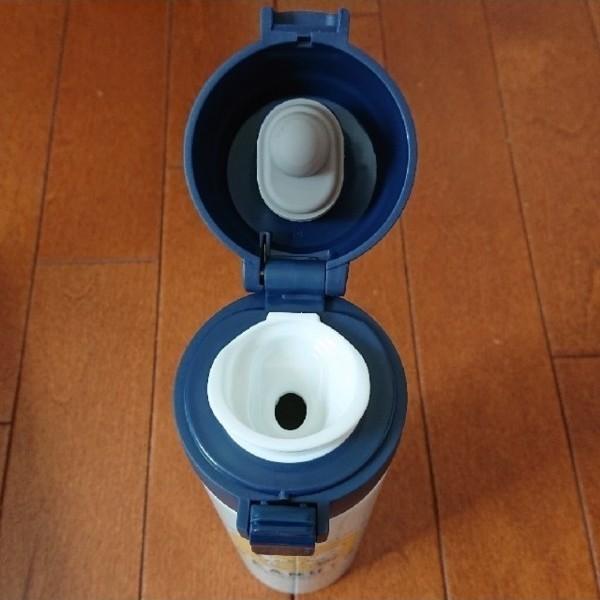 新品 スヌーピー ワンプッシュ ステンレスボトル 450ml ステンレスボトル