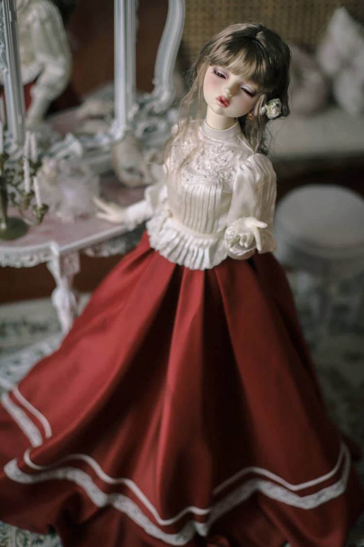 BJDドール用衣装セット SD/MSDサイズ 球体関節人形 doll 洋服 女用 YYJ_画像7