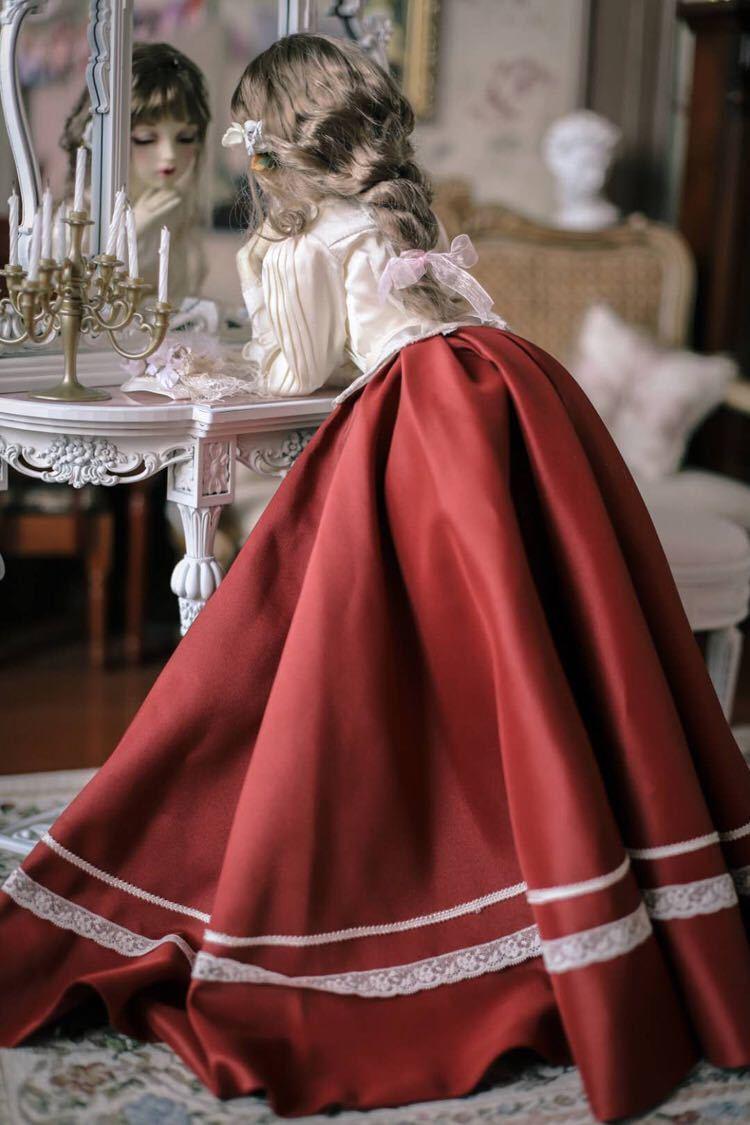 BJDドール用衣装セット SD/MSDサイズ 球体関節人形 doll 洋服 女用 YYJ_画像4