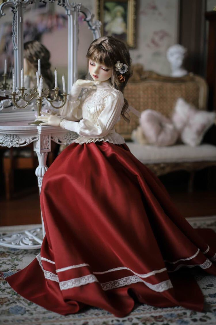 BJDドール用衣装セット SD/MSDサイズ 球体関節人形 doll 洋服 女用 YYJ_画像2