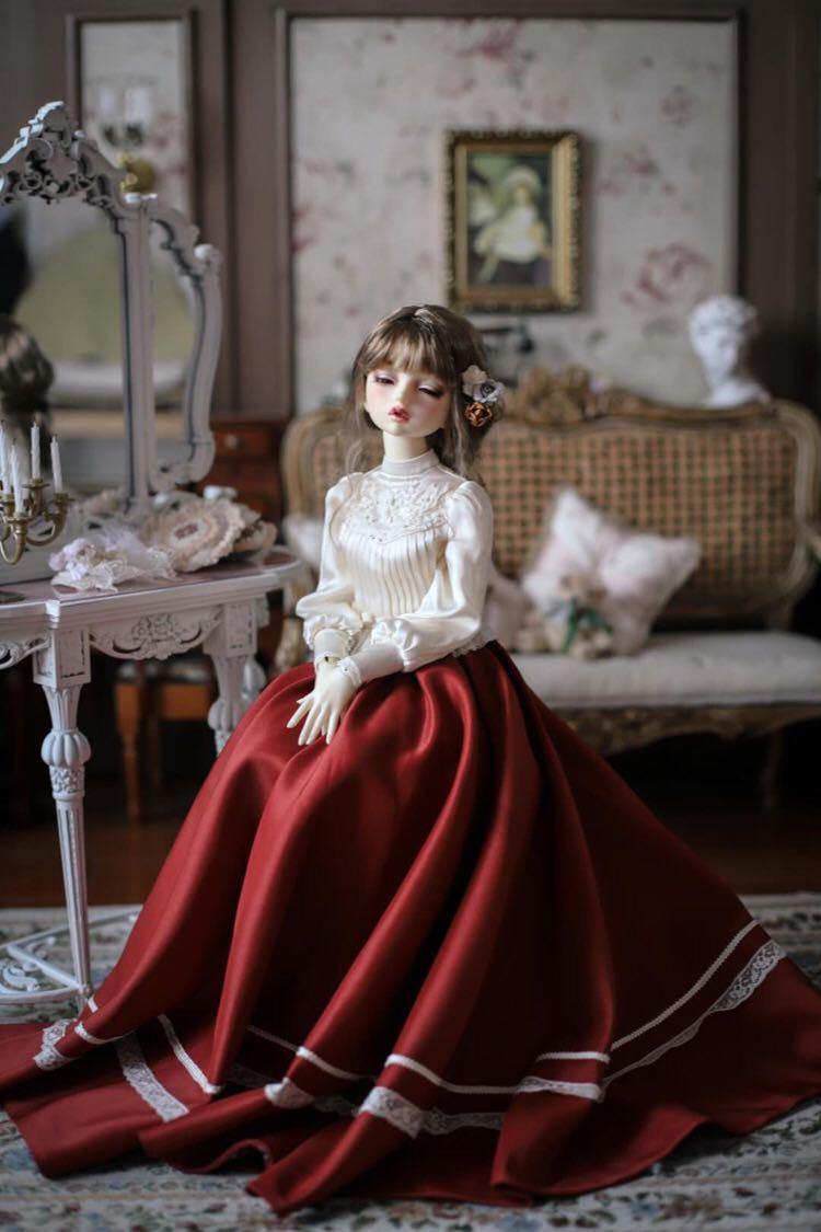 BJDドール用衣装セット SD/MSDサイズ 球体関節人形 doll 洋服 女用 YYJ_画像1
