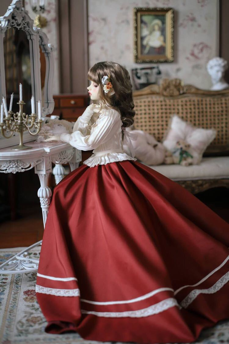 BJDドール用衣装セット SD/MSDサイズ 球体関節人形 doll 洋服 女用 YYJ_画像5