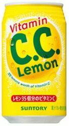 【サントリー】 C.C.レモン 350ml缶 1ケース 24入り_画像1