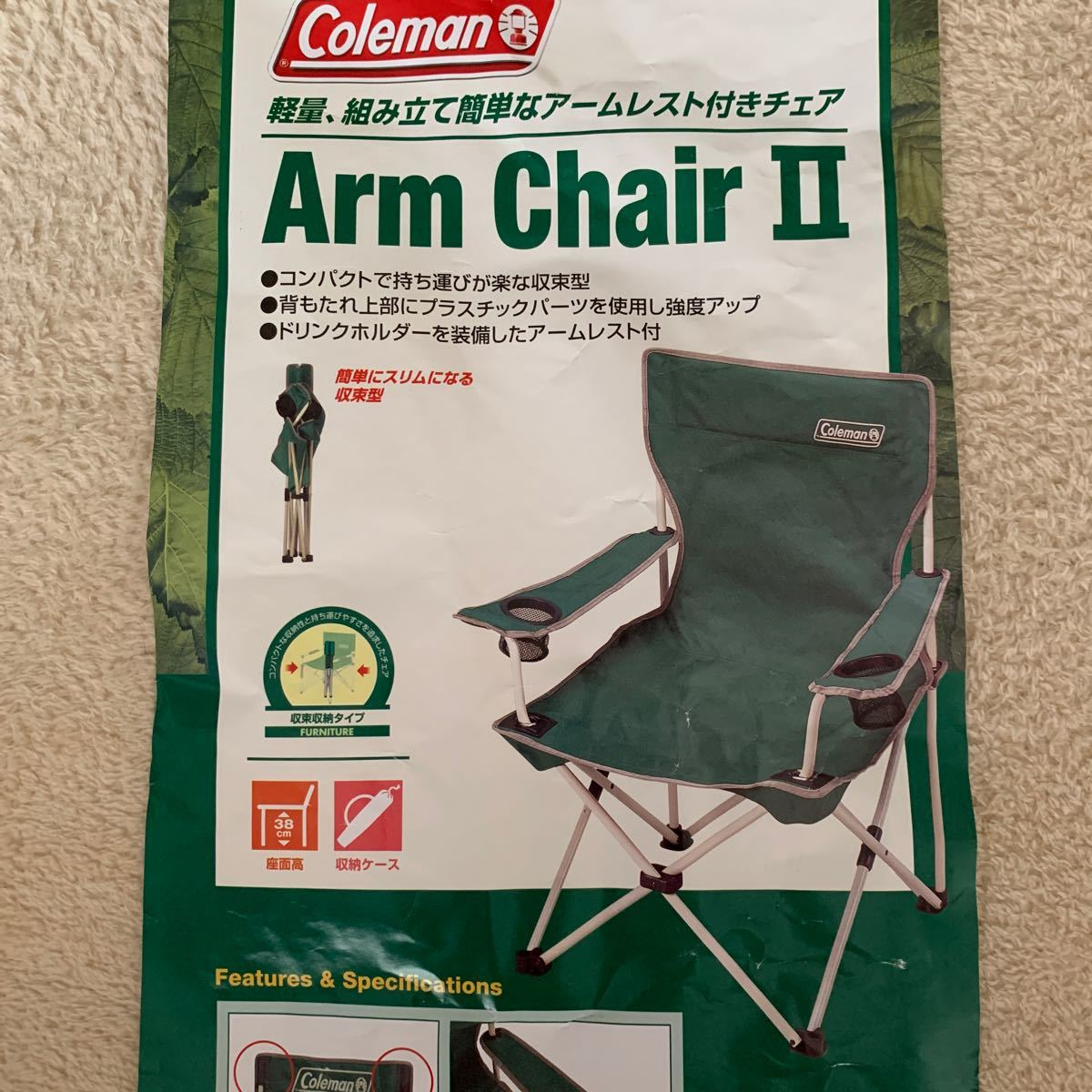 Coleman Arm Chair 1脚