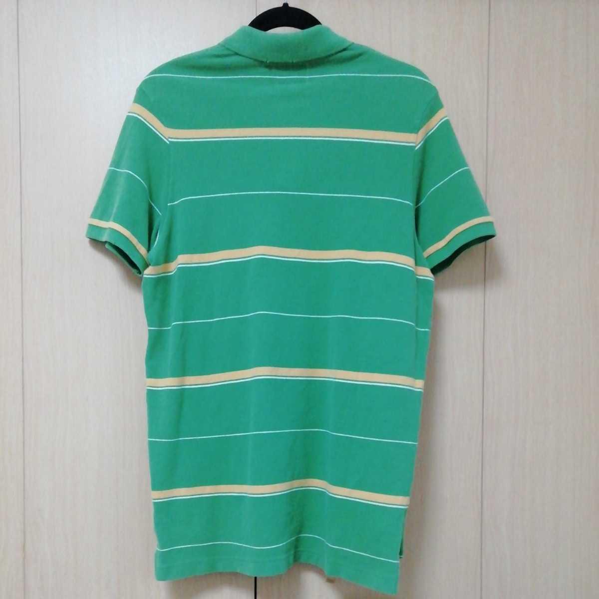 アバクロンビー&フィッチ 半袖ポロシャツ M グリーン