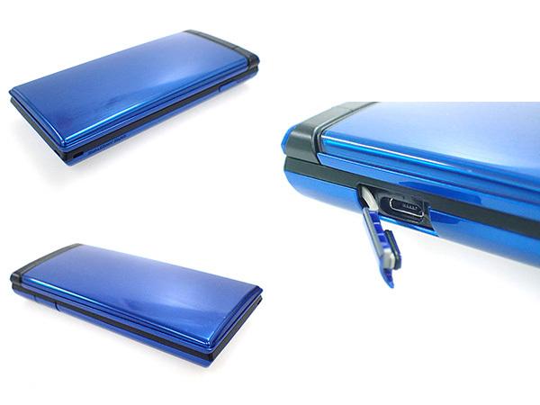 【中古 良品】ワイモバイル DIGNO 502KC ブルー 青 ガラケー 携帯電話 ケータイ 京セラ 制限〇 一括購入(HGA18-61)_画像4