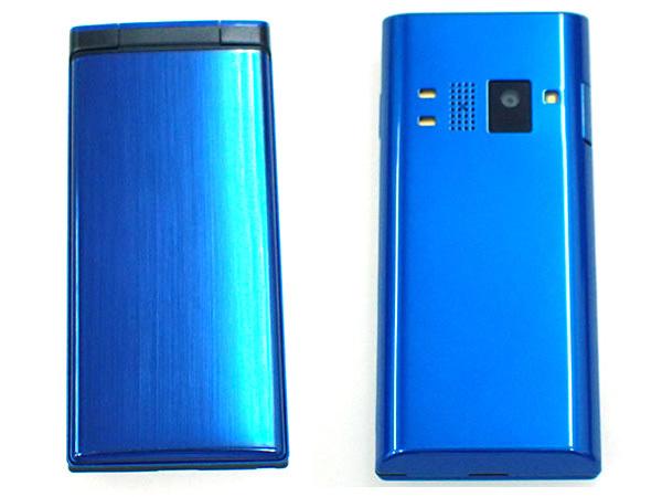 【中古 良品】ワイモバイル DIGNO 502KC ブルー 青 ガラケー 携帯電話 ケータイ 京セラ 制限〇 一括購入(HGA18-61)_画像3