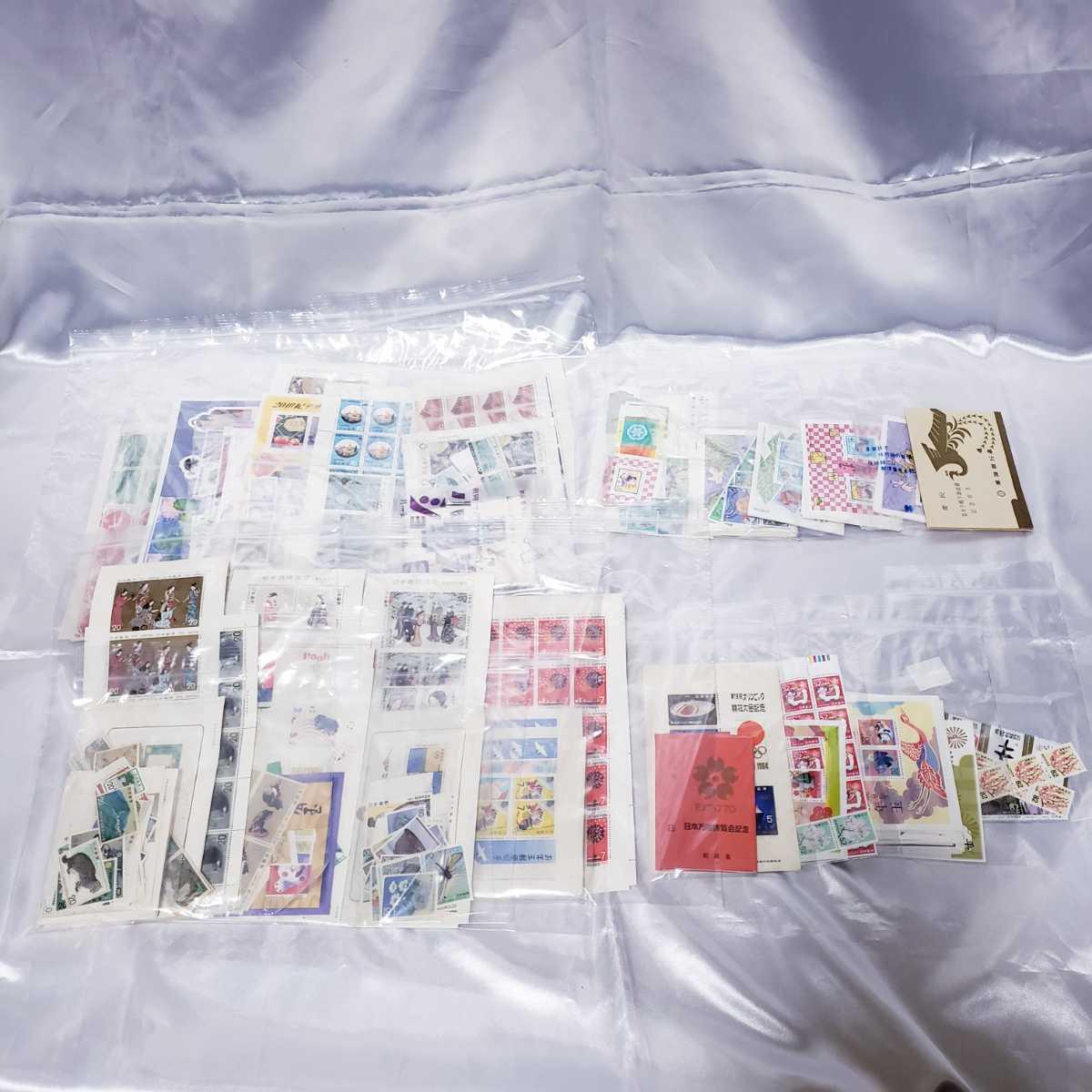切手 未使用品 シート バラ 記念切手 郵便切手 色々 大量 まとめて 額面97770円分