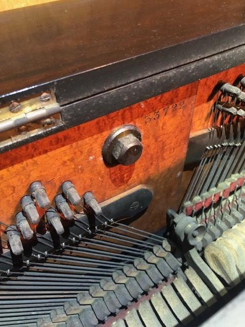 1861年製? スタインウェイ ニューヨーク Steinway&Sons New York アップライトピアノ_画像5