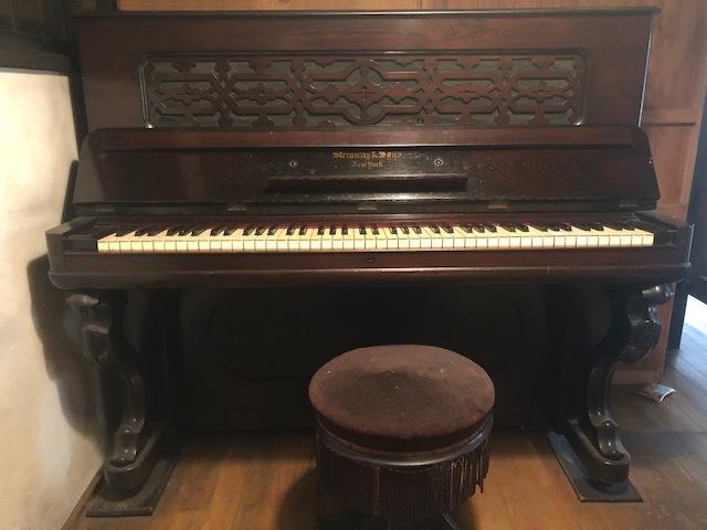 1861年製? スタインウェイ ニューヨーク Steinway&Sons New York アップライトピアノ_画像1