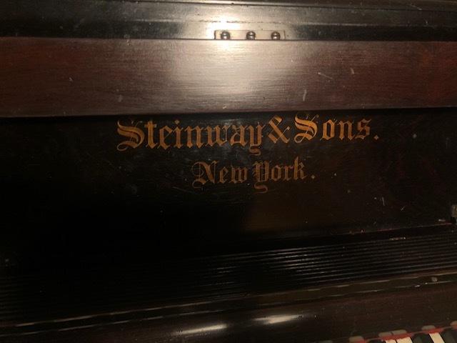1861年製? スタインウェイ ニューヨーク Steinway&Sons New York アップライトピアノ_画像2