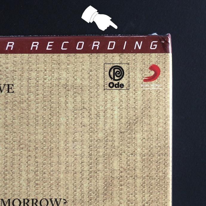 限定盤/高音質CD/SACD/キャロル・キング/タペストリー/Carole King/Tapestry/MFSL/MoFi/Mobile Fidelity/つづれおり_ケースの上端に印刷のかすれがあります