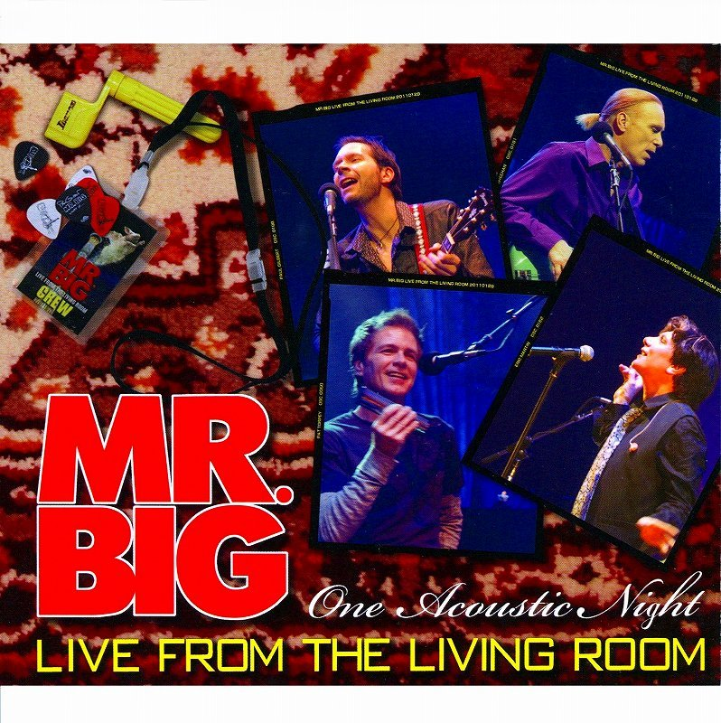 ◆◆MR. BIG◆LIVE FROM THE LIVING ROOM ライヴ・フロム・ザ・リヴィング・ルーム ~ワン・アコースティック・ナイト~ 即決 送料込◆◆