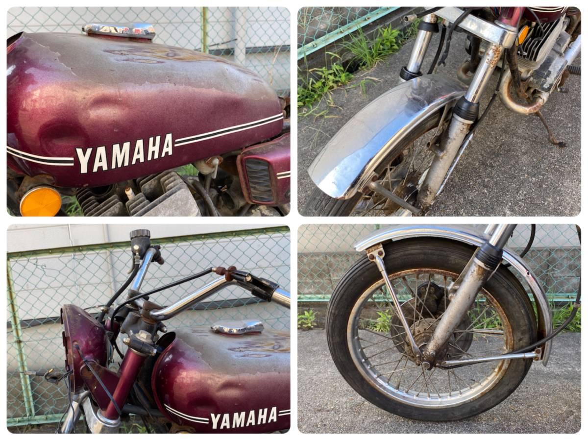 売り切り【登録書類有】ヤマハ RD350 レストアベース RD 現状お渡し_画像8