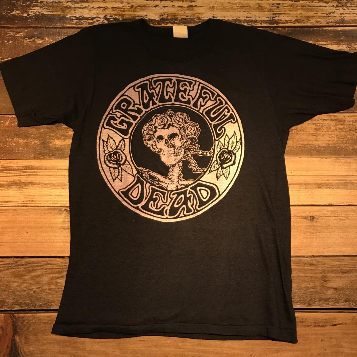 70~80'S GRATEFUL DEAD BAND T-SHIRT.(DEAD STOCK) / VINTAGE 70s 80s ビンテージ デッドストック グレイトフルデッド バンド Tシャツ_画像1