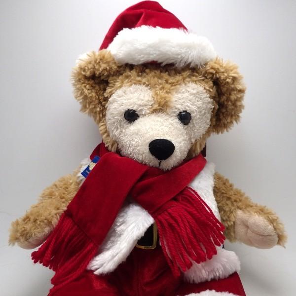 ★ダッフィー コスチューム付ぬいぐるみSサイズ クリスマス2010 Tokyo Disney Sea 東京ディズニーシー サンタ_画像1