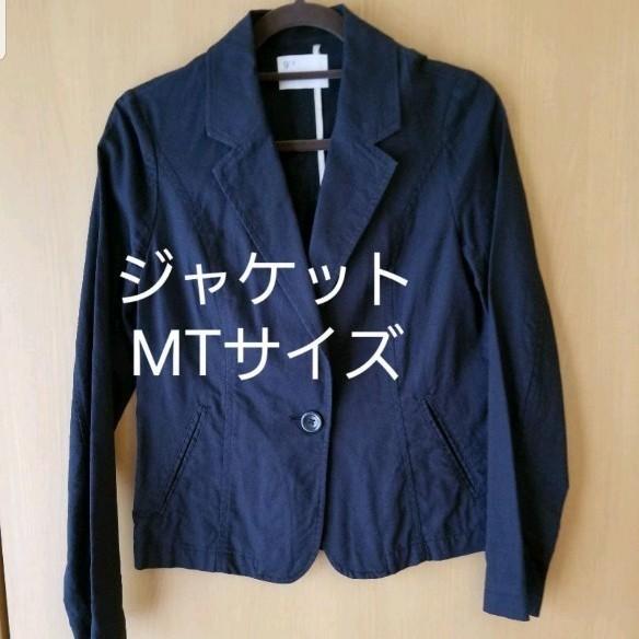 テーラードジャケット ジャケット レディース 麻 Mサイズ