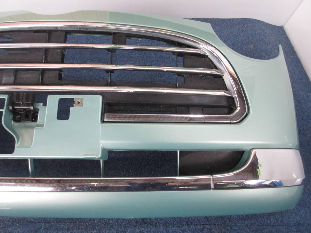 L650 ダイハツ純正 ミラジーノ フロント バンパー D24B FR C776A ライトグリーンメタリックオパール G39_画像4