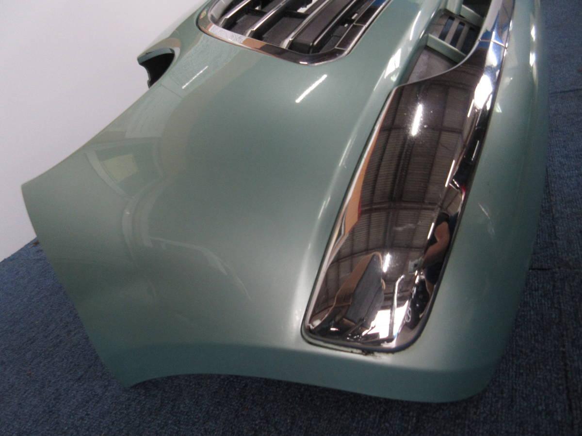 L650 ダイハツ純正 ミラジーノ フロント バンパー D24B FR C776A ライトグリーンメタリックオパール G39_画像2