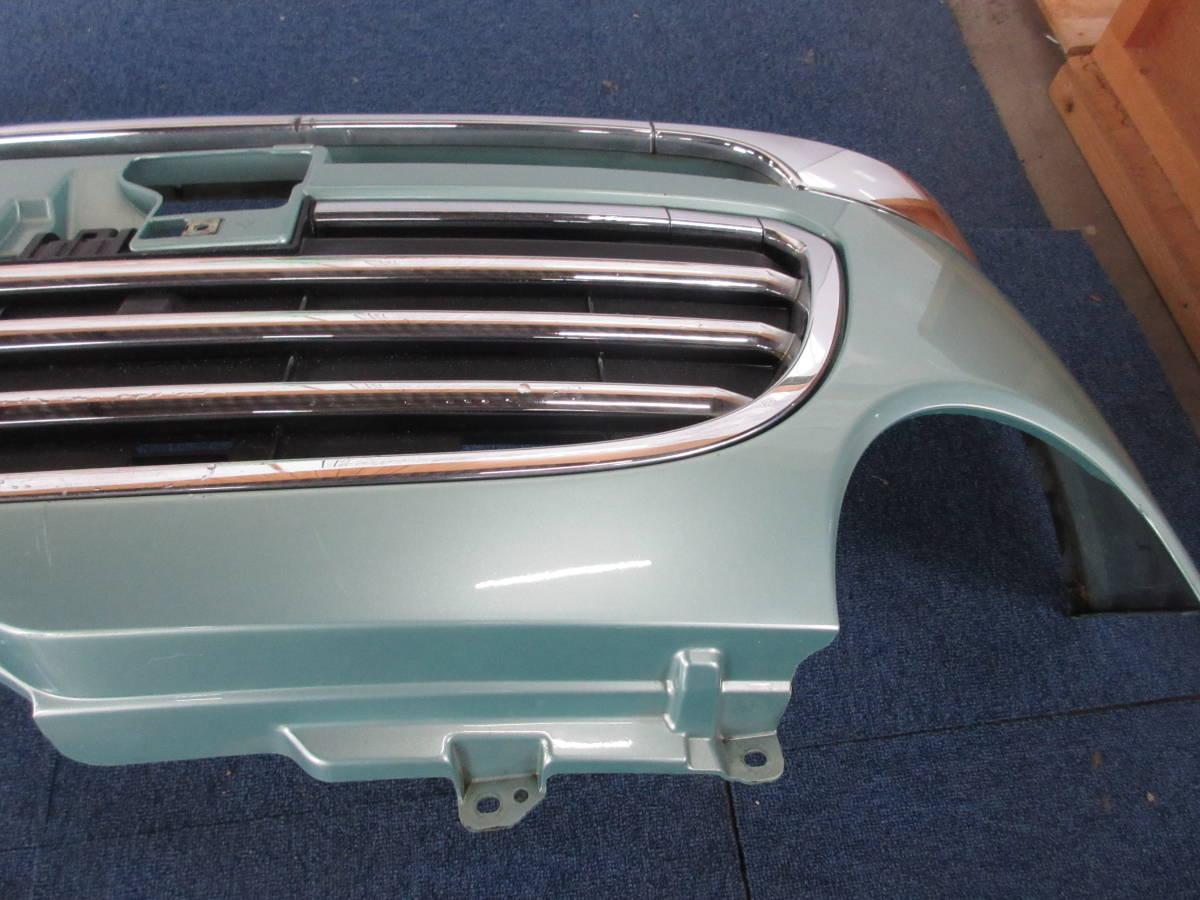 L650 ダイハツ純正 ミラジーノ フロント バンパー D24B FR C776A ライトグリーンメタリックオパール G39_画像8