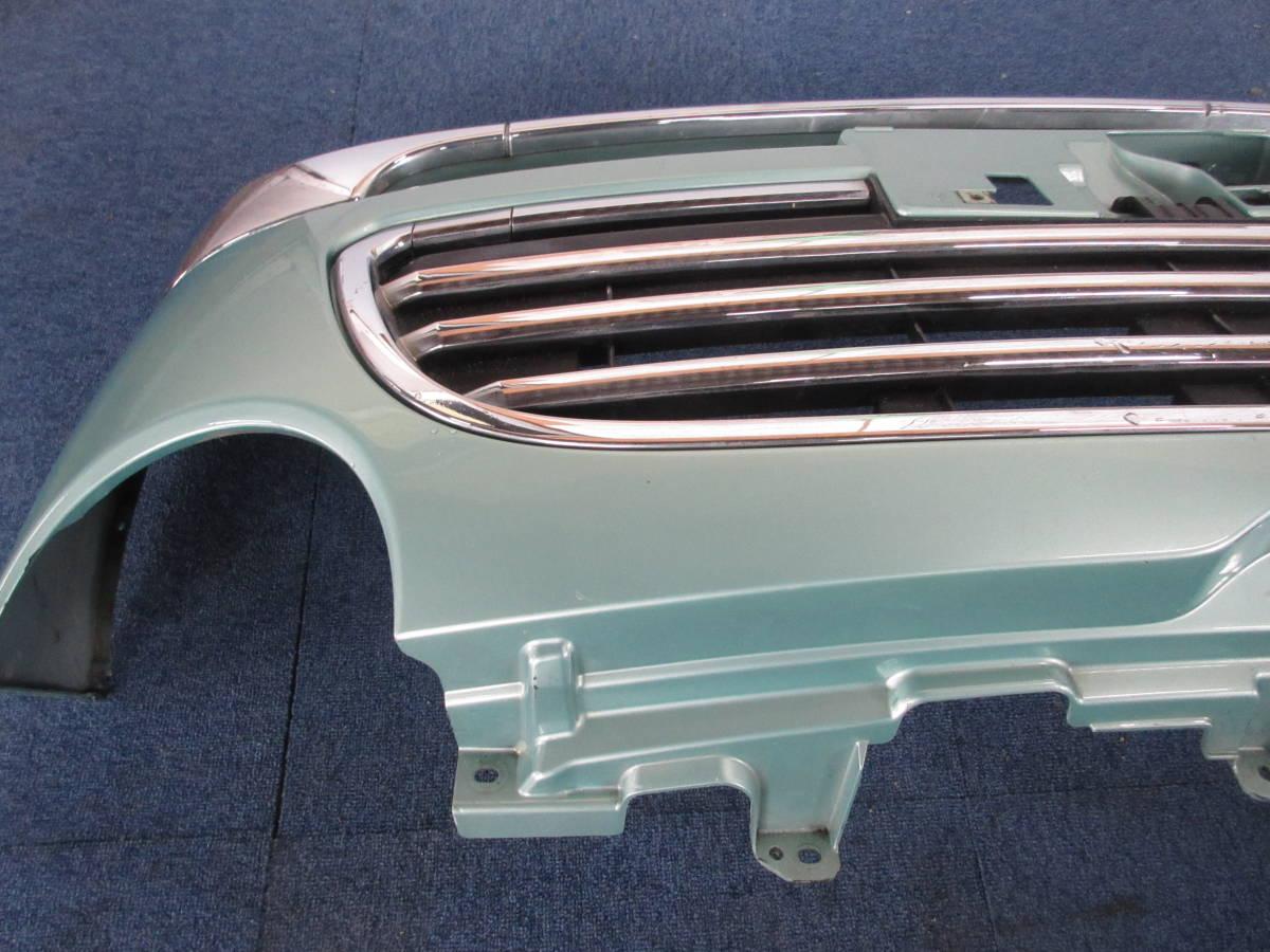 L650 ダイハツ純正 ミラジーノ フロント バンパー D24B FR C776A ライトグリーンメタリックオパール G39_画像7