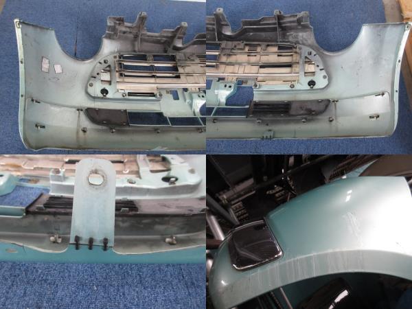 L650 ダイハツ純正 ミラジーノ フロント バンパー D24B FR C776A ライトグリーンメタリックオパール G39_画像10