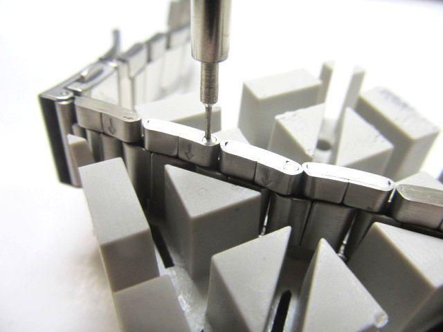 腕時計ベルト調整 工具セット コマ調整 コマ外しサイズ修理 交換キット 腕時計ベルトの調整やサイズ調整に便利な工具セット_画像2