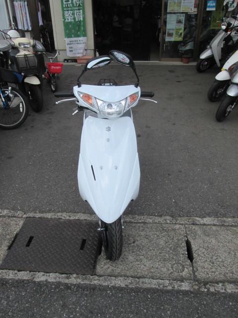 「SUZUKI アドレスV50 スクーター 新車」の画像3