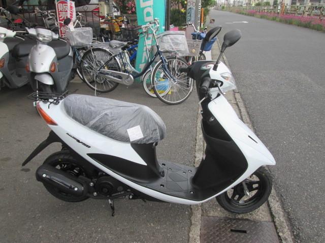 「SUZUKI アドレスV50 スクーター 新車」の画像1
