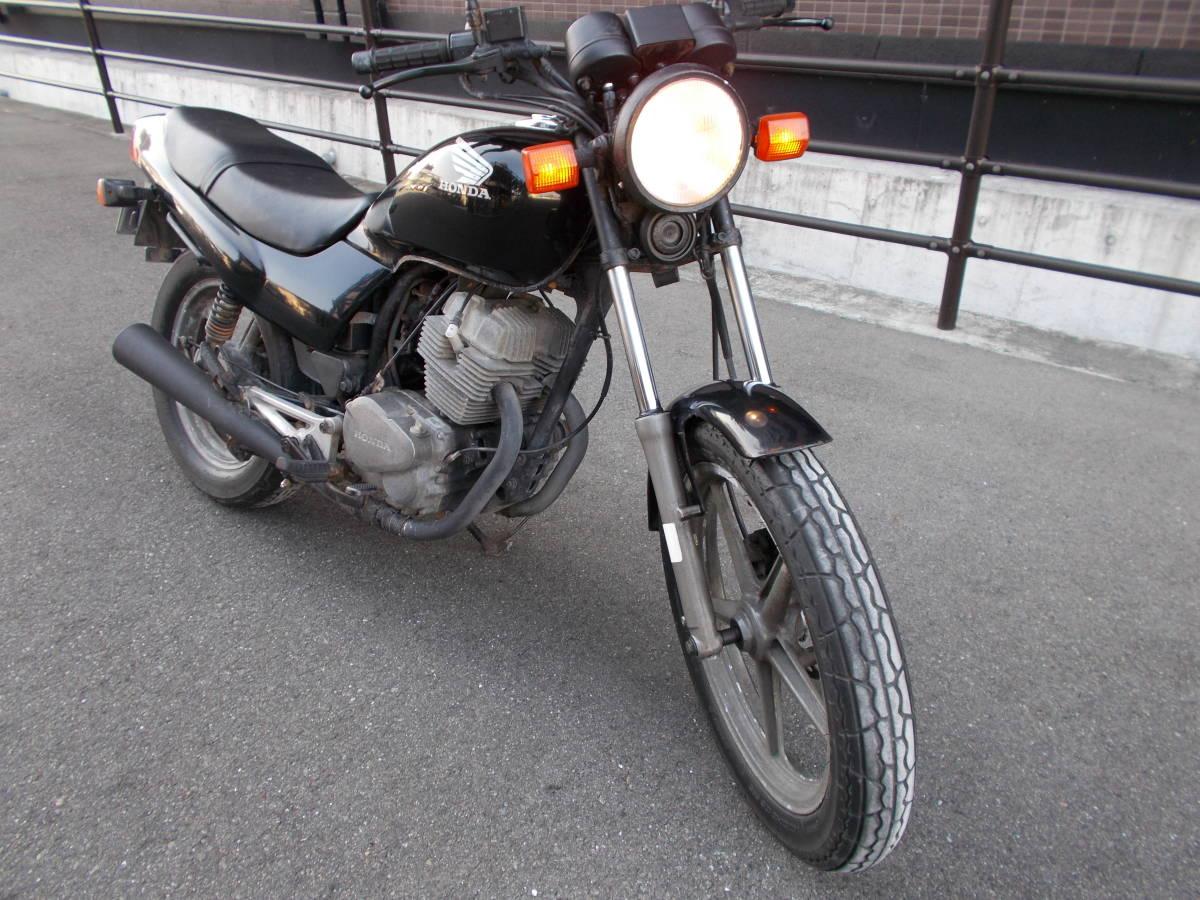 「ナイトホーク250(MC26)珍しいバイク!整備して下さい。」の画像3