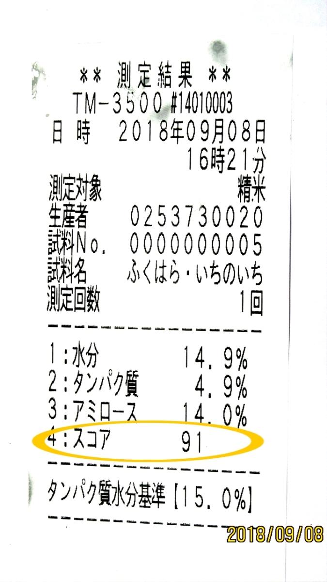 令和元年産 いのちの壱30kg玄米 減農薬減化学肥料 食味スコアSランク_画像7