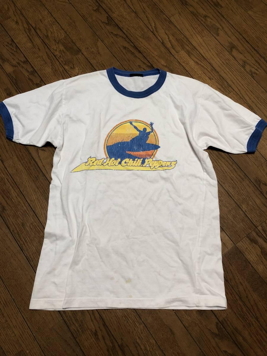 ビンテージ【Red Hot Chili Peppers】90's 半袖 Tシャツ レッドホットチリペッパーズ ROCK バンドT 古着 カリフォルニア レッチリ buyee_画像9