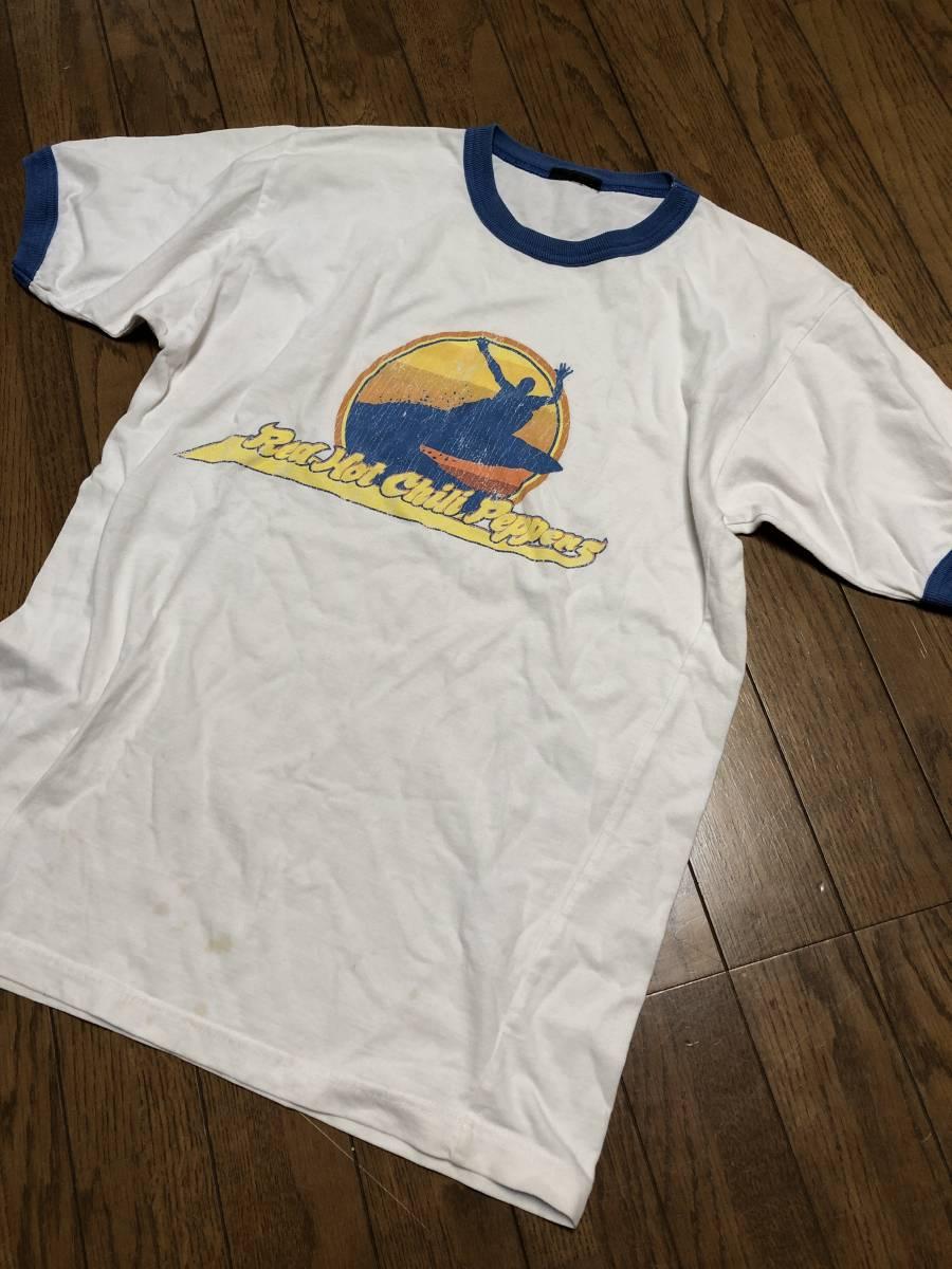 ビンテージ【Red Hot Chili Peppers】90's 半袖 Tシャツ レッドホットチリペッパーズ ROCK バンドT 古着 カリフォルニア レッチリ buyee_画像1