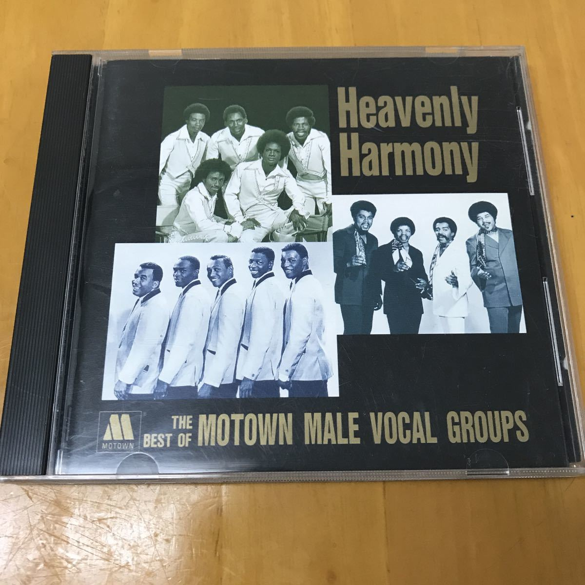 HEAVENLY HARMONY / THE BEST OF MOTOWN MALE VOCAL GROUPS 国内盤CD モータウン ヴォーカル・グループ_画像1