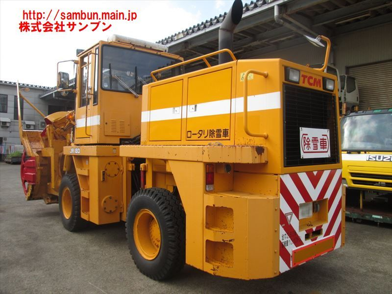 「☆TCM,JR180-237,M08,ロータリ除雪車,2.2m級,幅:2.6m,33,000km,7,300Hr,A/T,H16年式,検2/11,」の画像3