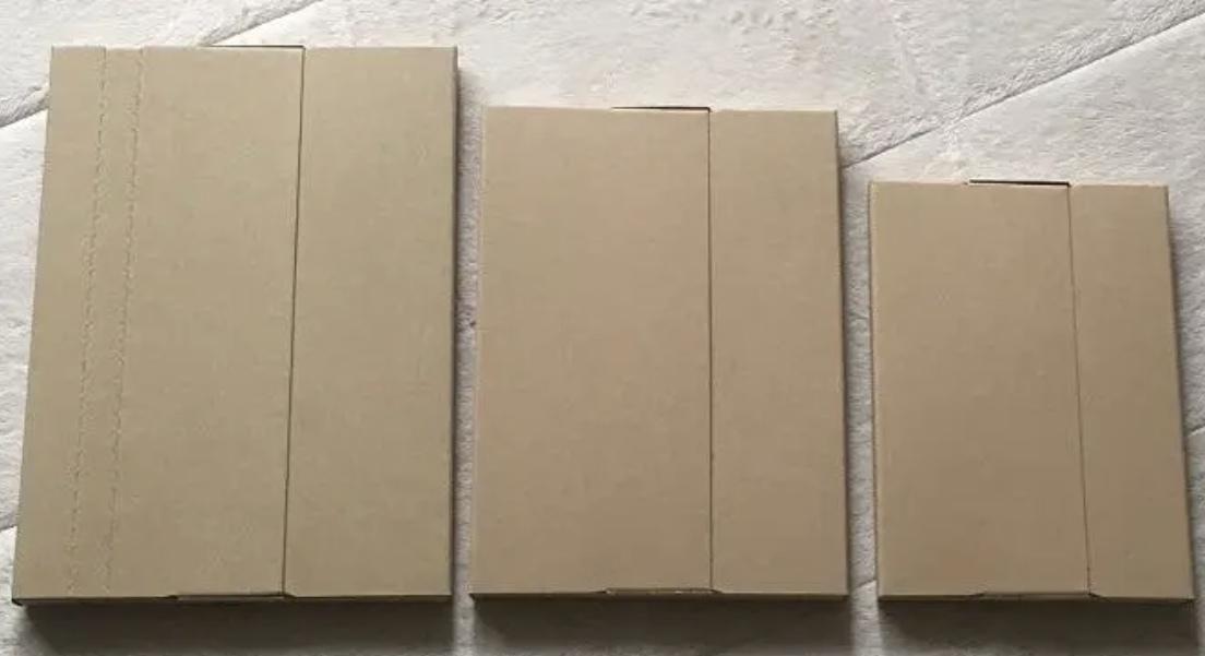 送料無料★《3サイズ/計90枚》ネコポス対応 ダンボール 段ボール 箱 梱包資材 ヤマト ゆうパケット クリックポスト 定形外 Ⅸ_画像2