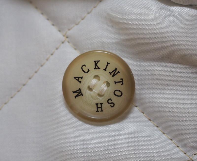 MACKINTOSH マッキントッシュ キルティングジャケット 34 イギリス製_画像6