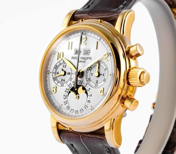 ★PATEK-PHILIPPE★パテックフィリップ スプリットセコンド クロノグラフ 5004Jパーペチュアルカレンダー K18YG最高級腕時計!!入手困難!