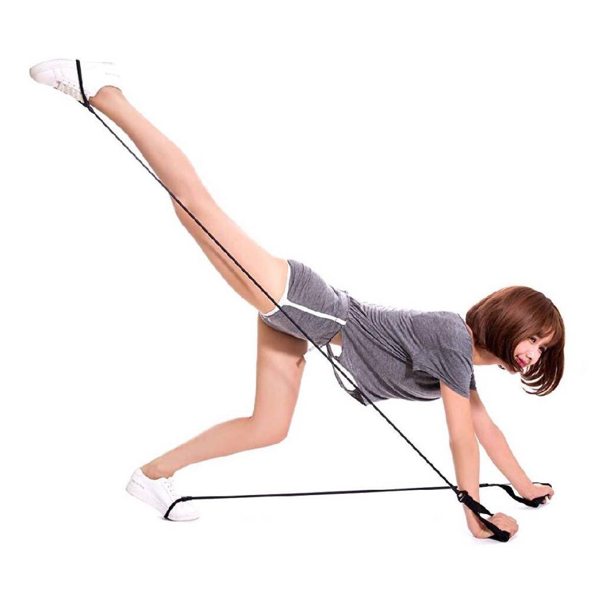 トレーニングチューブ エクササイズ用 筋トレ 運動不足 ダイエット