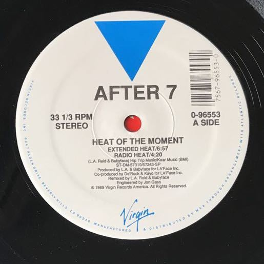 【r&b】After 7 / Heat Of The Moment[12inch]オリジナル盤《1-4 9595》