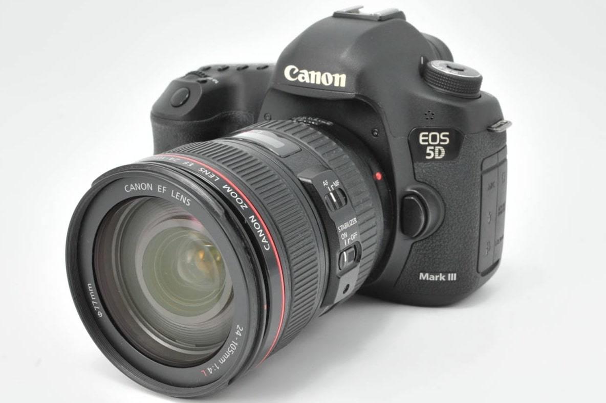★超美品!★ Canon キヤノン EOS 5D MarkⅢ レンズセット EF 24-105mm F4 L IS USM 一眼レフカメラ ●動作確認済の商品!★A-104_画像2
