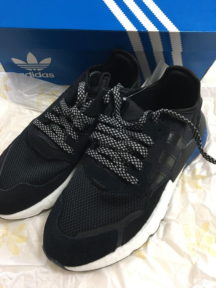 ナイトジョガー adidas アディダス 26cm シューズ ランニング 靴