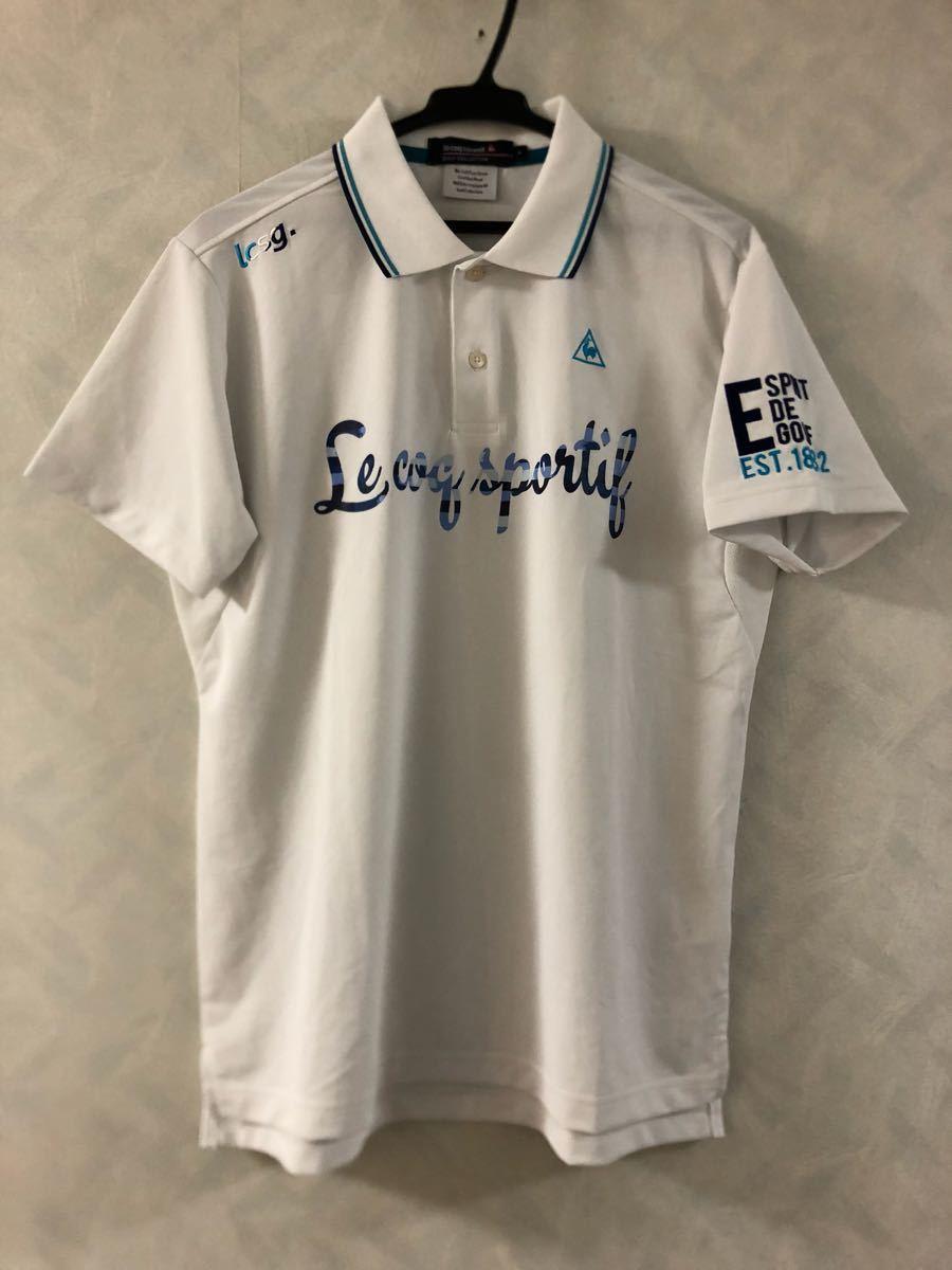 le coq sportif GOLF ポロシャツ サイズL メンズ ルコック ゴルフ_画像1