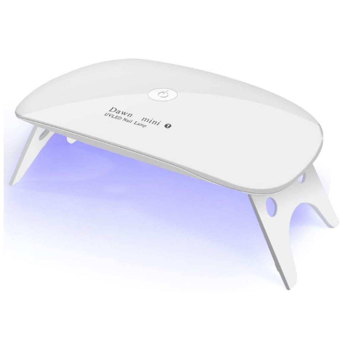 UVライト LEDネイルドライヤー ジェルネイルLED 硬化ライト ホワイト