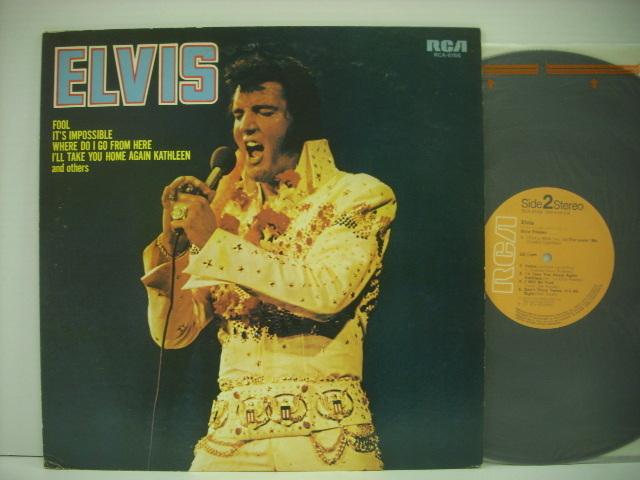 ■LP ELVIS PRESLEY エルヴィス・プレスリー / FOOL フール 国内盤 ビクター音楽産業株式会社 RCA-6166 ◇r2901_画像1