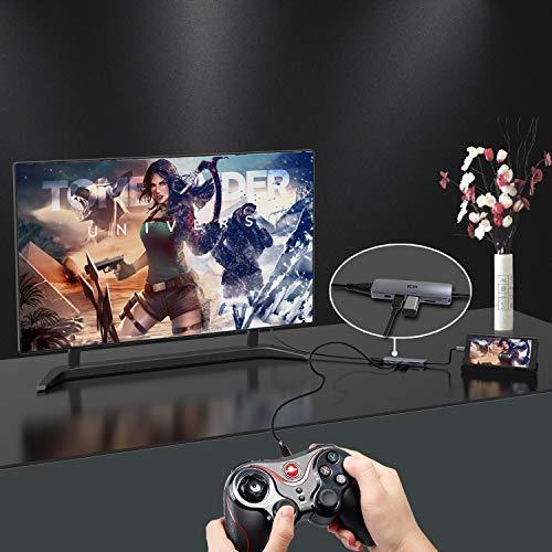 6-in-1ハブ ICZI USBC ハブ HUB Type-c to USB3.0 HDMI 4K 高解像度USB 3.0 _画像5
