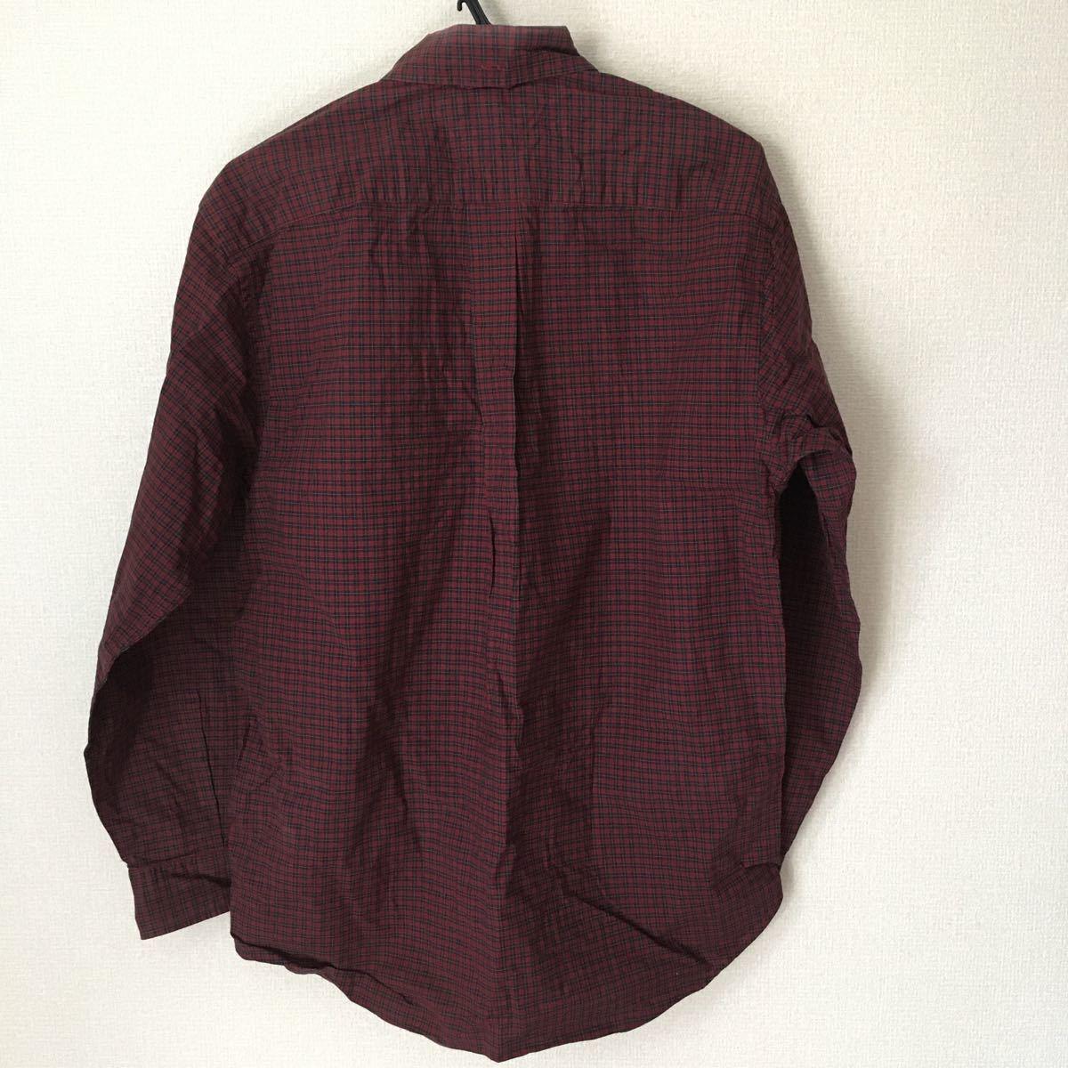 長袖シャツ ボタンダウン チェックシャツ トミーヒルフィガー TOMMY HILFIGER S